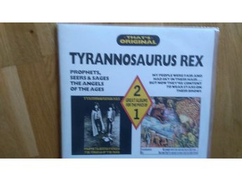 T-REX TYRANNOSAURUS REX Prohpets, seers & sages + My people were fair...2-LP UK