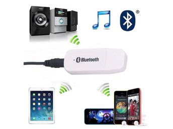 USB Stereo Bluetooth Receiver Adapter för iPhone Phone Tablet Musik