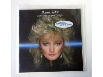 Bonnie Tyler - Faster Than the Speed of Night - LP 1983