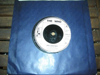 THE WHO - JOIN TOGETHER / BABY DONT YOU DO IT   Track Singel  1972
