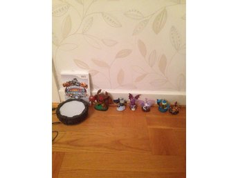 Skylanders Giants med figurer