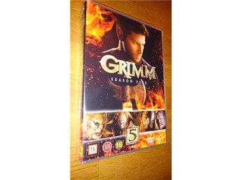 Grimm 2015-16 Season Five 5 22 Episodes 5 disc DVD NY Sensk text - Glommen - Grimm 2015-16 Season Five 5 22 Episodes 5 disc DVD NY Sensk text - Glommen