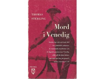 Thomas Sterling:Mord i Venedig.