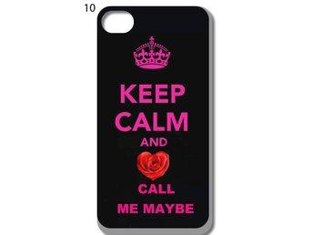 Keep Calm iPhone 5-5S Skal D10 - Kista - Keep Calm iPhone 5-5S Skal D10 - Kista