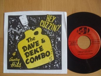 The Dave & Deke Combo Hey Cuzzin EP rockabilly rock & roll USA 45