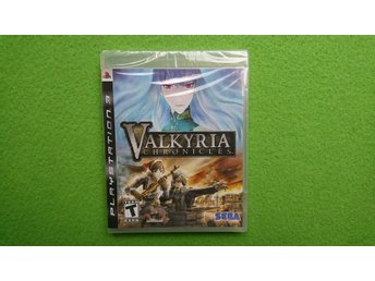 Valkyria Chronicles NYTT INPLASTAT Ps3 Playstation 3