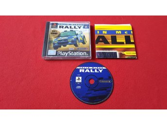 COLIN MCRAE RALLY till Sony Playstation PSone