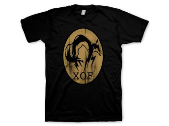 T-Shirt Metal Gear Solid XOF Logo Black Size L