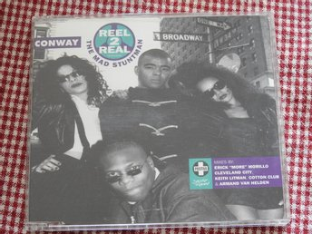 Reel 2 Real Featuring The Mad Stuntman ‎– Conway CD Single 1995