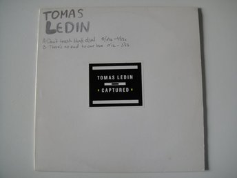 "TOMAS LEDIN Don't touch that dial  PROMO 12""  RARITET"