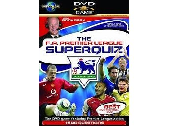 FA Premier League SuperQuiz DVD Game - DVD Spel