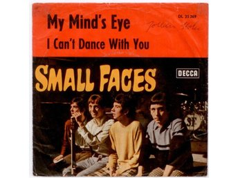 "SMALL FACES - My Mind's Eye  7"" Singel  Tyskland"