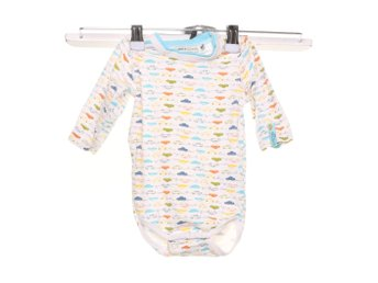 name it newborn, Body, Strl: 62, Vit/Flerfärgad
