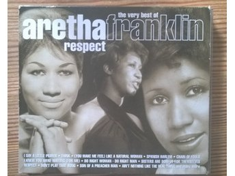 "ARETHA FRANKLIN ""respect"" 2-CD samling"