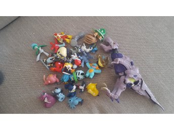 Beast Wars Megatron och Pokemon Figurer