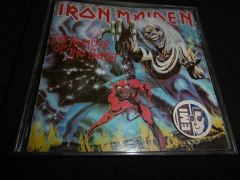 Iron Maiden - The number of the beast - CD - (1982)