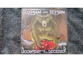 Flotsam and Jetsam Doomsday for the deceiver LP old school thrash metal 1986