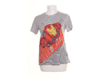H&M, T-shirt, Marvel Iron Man, Strl: 170, Grå