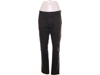 Selected Homme, Byxor, Strl: 31/32, One Luca black chino pants, Svart