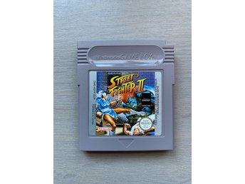 Game Boy GB: Street Fighter II