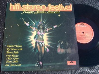 HIFI-STEREO-FESTIVAL - HAPPY SOUTH AMERICA LP 1970