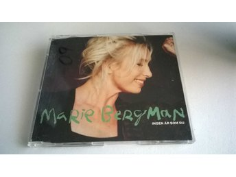 Marie Bergman - Ingen Är Som Du, CD, Maxi-Single