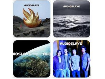 AUDIOSLAVE COASTERS - Set of 4