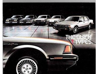 Buick alla modeller 1983 försäljningsbroschyr - Lomma - Buick alla modeller 1983 försäljningsbroschyr - Lomma