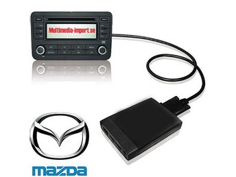 USB/AUX interface till orginalstereon Mazda 09-11