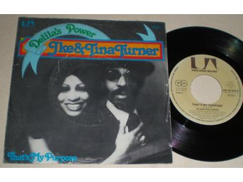 Ike & Tina Turner 45/PS Delila´s power 1975