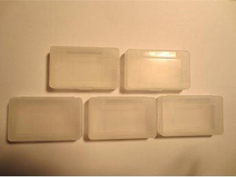 5st Skyddsfodral Plast Fodral Till Gameboy Advance GBA NYA