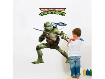 Teenage Mutant Ninja Turtles Leonardo Väggdekor Fri Frakt