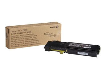 Skrivartoner Xerox Phaser 6600/Workcenter 6605 High Capacity Yellow
