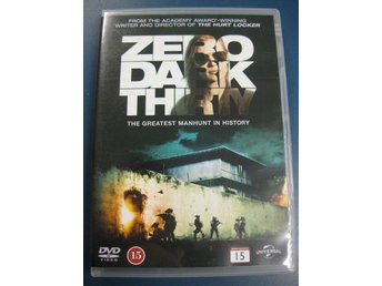 ZERO DARK THIRTY - MANHUNT (DVD RELEASE SVERIGE 2013)