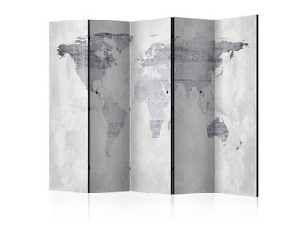 Rumsavdelare - Concrete Map Room Dividers 225x172
