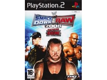 PS2 - WWE SmackDown vs Raw 2008 (Beg)