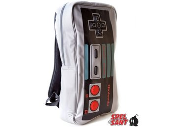 Nintendo NES Controller Backpack Large Grå