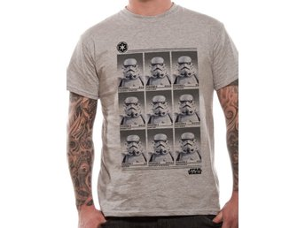 STAR WARS - TROOPER YEARBOOK (UNISEX)  T-Shirt - Extra-Large