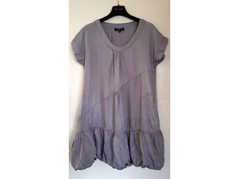 Malene Birger et Mikkelsen DAY NIGHT taupe blus tunika romantisk shabby chic 36