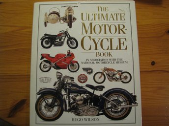 THE ULTIMATE MOTOR-CYCLE BOOK, 192 sidor, över 600 foton.