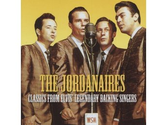CD THE JORDANAIRES - CLASSICS FROM ELVIS...... - NY INPLASTAD