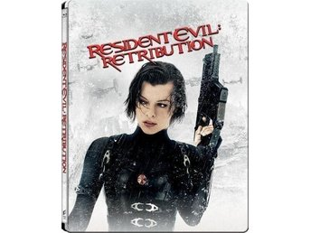 Resident Evil: Retribution 3D +2D Limited Edition Steelbook