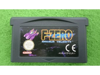F-zero Maximum Velocity Gameboy Advance Nintendo GBA