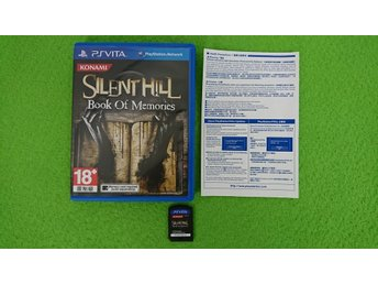 Silent Hill Book of Memories Playstation Vita ps