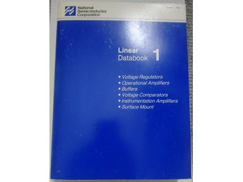 National Semiconductor Linear Databook 1