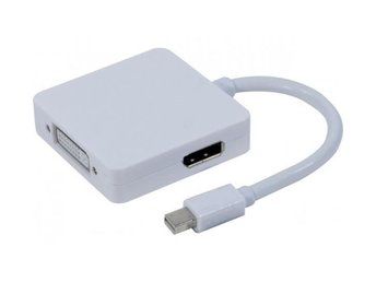 EXC Mini DisplayPort 1.1 to DVI/ HDMI/ DP passive converter