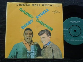 Bobby Rydell/Chubby Checker ?? Jingle Bell Rock/Jingle Bells Imitations Columbia