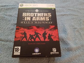 Brother in Arms Hells Highway Limited Edition till Xbox 360