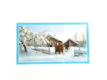 Retro Vinter Plansch Jul