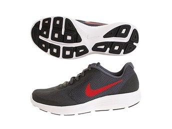 new style 5aee7 c5f51 HELT NYA Nike Revolution 3 sneakers - dark grey red - strl 36,5